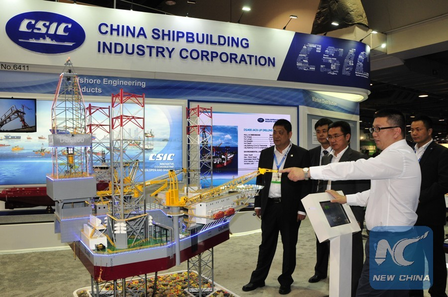 Offshore Engineering Industry : Chinese oil gas companies come big at otc oilnow