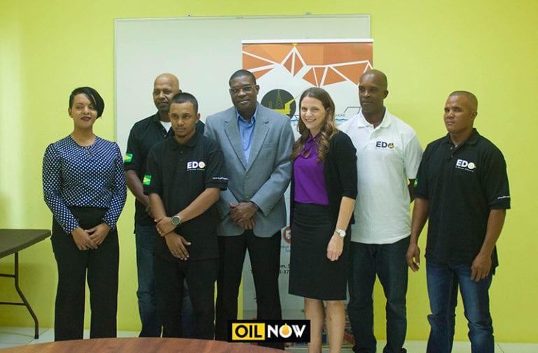 "ExxonMobil, Guyana officials bid farewell to local ""trail blazers"" off to work on Stena drill ship"