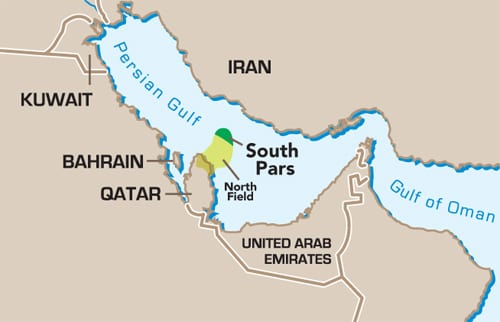 Image result for South Pars Gas field, photos