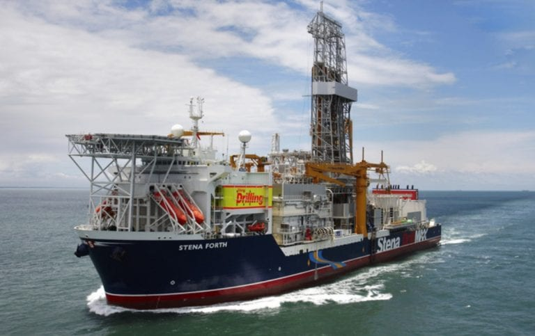 Stena Forth en route to Guyana for Orinduik drill campaign