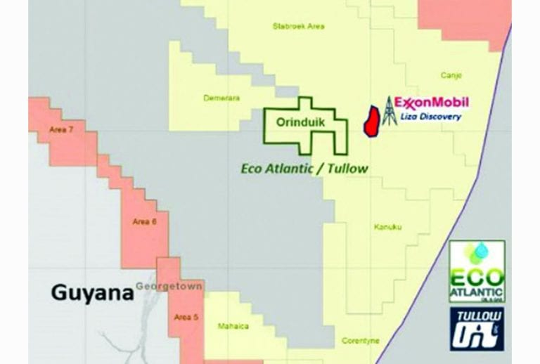 Eco Atlantic not aware of any Guyana oil probe that would affect its work