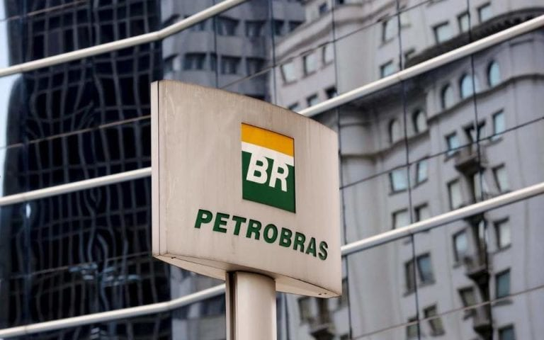 Shares in Brazil's Petrobras jump almost 10%