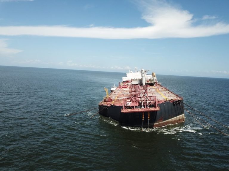 Several attempts made since 2019 to offload cargo from Venezuelan tanker threatening to spill crude