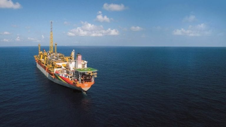 Flash gas compressor reinstalled on Liza Destiny FPSO, system being tested