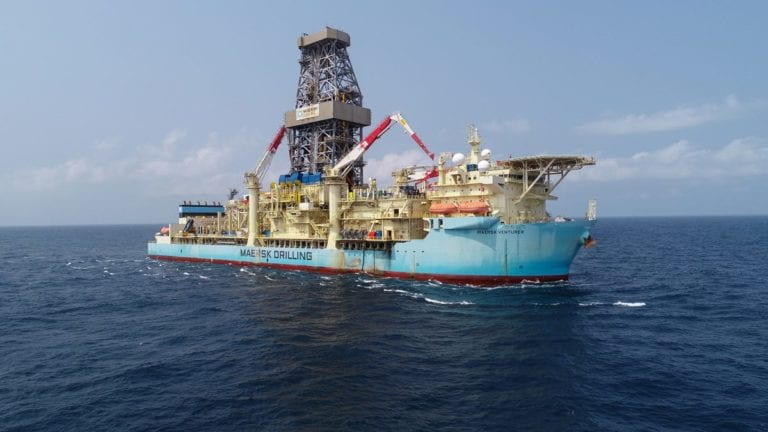 Tullow selects Maersk for long-term deepwater drill campaigns