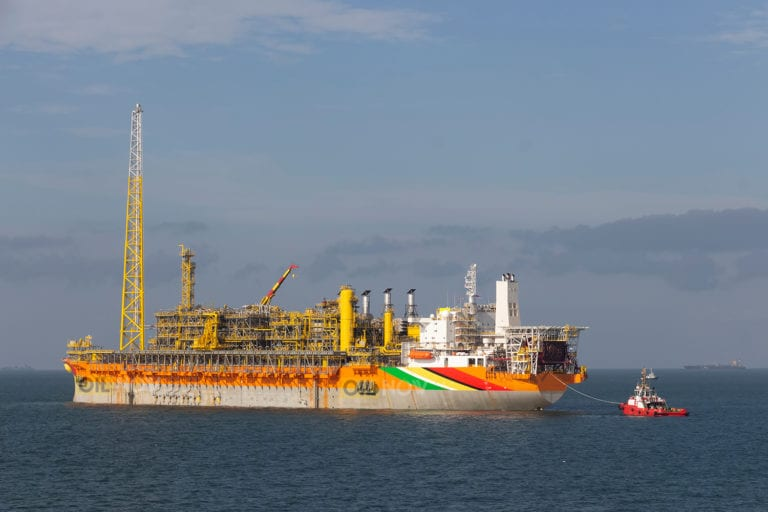 Exxon says team on track to reinstall FPSO gas compressor this month