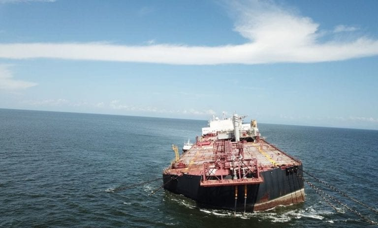 Venezuela completes offloading of crude from vessel that was tilting near T&T