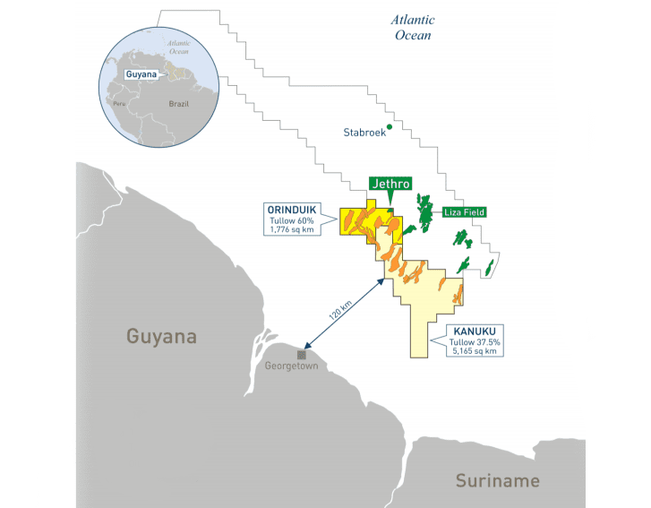 Tullow working on identifying upcoming drill targets in Guyana